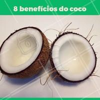 Nas mais diversas formas de consumo, o Coco é um dos alimentos mais saudáveis, nutritivos e com benefícios surpreendentes para a saúde, bem estar e beleza. Entre seus benefícios podemos listar: 1. Aumenta energia e queima gordura; 2.Possui efeitos medicinais naturais; 3. Abaixa o nível do colesterol; 4. Melhora a sua digestão; 5. Hidrata a pele e os cabelos; 6. Reduz o stress; 7. Suporta um sistema imunológico saudável e é compatível com o sangue humano; 8. Indicado para ser consumido no período de gestação 🥥  #coco #ahazou #beneficios