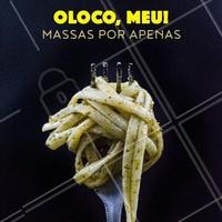 Não vai perder essa promo né? 😱 Se vira nos trinta e vem saborear nossas massas! #massas #ahazoutaste #promoçao #comidaitaliana