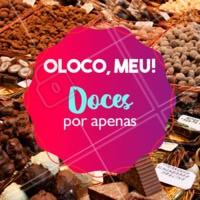Não vai perder essa promo né? 😱 Se vira nos trinta e aproveite pra comprar seus docinhos favoritos! #doceria #ahazoutaste #promoçao #doces