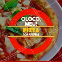 Não vai perder essa promo né? 😱 Se vira nos trinta e chama os amigos pra uma pizza (ou duas)! #pizzaria #ahazoutaste #pizza