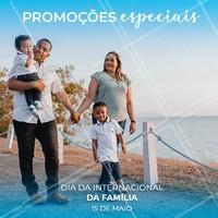 Aproveite as nossas promoções especiais para o dia da família! #diadafamilia #ahazou  #familia #promocao