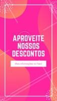 Aproveite os nossos descontos :)  #stories #ahazou #editaveis #desconto