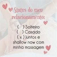 """Entrando no clima de """"Juntos"""", quem se identificou também? 😂 #massagem #juntos #ahazou #relax #engracado"""