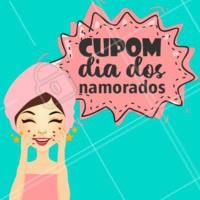 Presenteie o seu amor com um Cupom dos nossos serviços! #diadosnamorados #ahazou #cupom