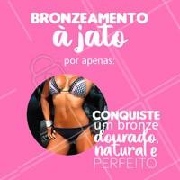 Aproveite o preço promocional e garanta um bronze natural e sem prejudicar a pele! Agende o seu horário! #esteticacorporal #ahazou #bronzeamentoajato #bronze