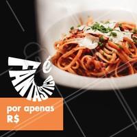 Essa promoção é FANTÁSTICA! 😍 #comidaitalinaa #ahazoutaste #promoçao #fantastico