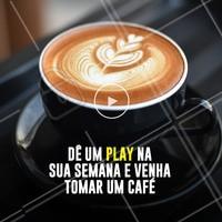 Mais uma semana começando! Dê uma passada aqui e chama os amigos para um café ☕️ #cafe #ahazoutaste #cafeteteria