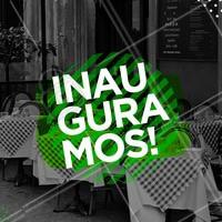 Venha conhecer a nossa pizzaria! 🍕 #pizzaria #ahazou #inauguracao