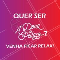 Bora agendar um horário para relaxar? 😉 #massagem #ahazou #adonadopedaco