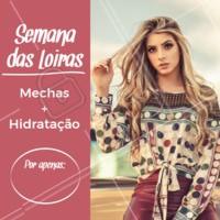 Aproveite o precinho especial e venha ficar ainda mais linda! 😍 #cabelo #mechas #ahazou #promocao