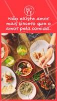 Quem concorda? Comida, eu te amo! 😂 #gastronomia #ahazoutaste #engraçado