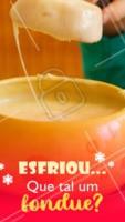 Bateu o friozinho? ⛄️ Venha se esquentar com nosso delicioso fondue! Chame o crush, a família ou os amigos e venha se deliciar. #fondue #ahazoutaste #frio