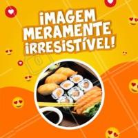 E ai, consegue resistir? 😉 #comidajaponesa #ahazoutaste #temakeria #sushi