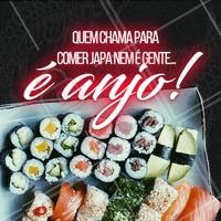 Marque aqui o anjo que vai te levar para comer um japa! #ahazou #japa #japones #comerbem #instafood