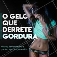 CRIOLIPÓLISE 👈 SURPREENDA-SE COM O PODER DO GELO!!! A Criolipólise é uma técnica não invasiva, indolor e muito eficaz na eliminação da gordura localizada. #estetica #estética #esteticacorporal #esteticaderesultados #esteticaporamor #ahazou #braziliangal #beauty #perfectbody #crio #criolipolise #crio360 #criolipolise360