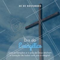 Um feliz dia a todos os evangélicos! Que seja um dia repleto de bençãos e amor! 😘 #didoevangelico #ahazou #deus #bencao