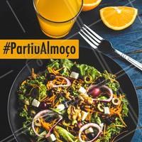 Tá na hora do almoço! Vem pra cá, estamos esperando por você. 😊 #almoço #ahazoutaste #restaurante #buffet #selfservice