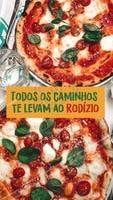 Com certeza o rodízio é o melhor rolê! Bora reunir a família e os amigos para saborear as melhores pizzas da região? 🍕 #pizza #pizzaria #ahazoutaste #rodizio