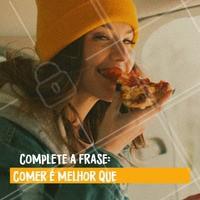 Comenta aqui embaixo! 👇 Quero saber! 😂 #comida #gastronomia #ahazoutaste #enquete