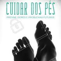 Não deixe de visitar um podologista regularmente, afinal o seus pés merecem cuidados especiais! 👣 #podologia #ahazou #pes #cuidadoscomospes