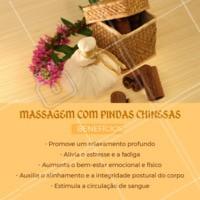 Você já conhece esta técnica de massagem? Olha só estes benefícios! 😊 #massagemcompindaschinesas #ahazou #massagem #bemestar