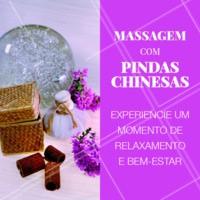 Você merece um tempo só para você! Agende seu horário e venha renovar as energias! ✨ #pindaschinesas #ahazou #massagem