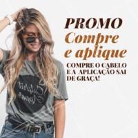 Não vai perder esta promoção, hein? Vem ficar mais linda! 😍 #cabelo #aplique #ahazoucabelos #diva
