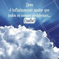 Nunca deixe de confiar! 🙏 #deus #ahazou #abencoado #frase