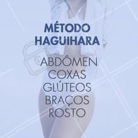 O Método Haguihara pode te ajudar a reduzir medidas de maneira eficiente em diversas partes do corpo. Agende sua avaliação e conheça esta técnica inovadora. #esteticacorporal #ahazou #estetica #metodohaguihara