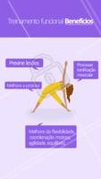 Olha só os benefícios que o treinamento funcional pode trazer para a sua saúde! 😉 #treinamentofuncional #ahazou #exercicio #saude #bemestar