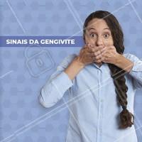 """""""Preste atenção nestes sinais: 🔹 Dentes parecem mais longos devido à retração da gengiva 🔹Gengivas se separam ou se afastam dos dentes, criando uma bolsa. 🔹A forma como os dentes se encaixam na mordida muda. 🔹 Secreção de pus ao redor dos dentes e da bolsa gengival. 🔹 Mau hálito constante e gosto ruim na boca.  #gengivite #ahazou #saude #odontologia"""""""