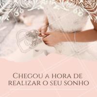 Tenha um dia da Noiva digno de rainha! Agende seu horário! #diadanoiva #ahazou #cabelo #noiva