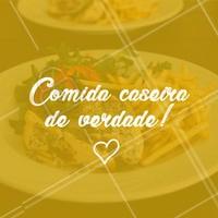 Comida saborosa, saudável e com gostinho de feita em casa! ❤️ Peça já a sua marmita 😋 #marmita #ahazoutaste #comida #almoço