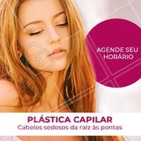 A Plástica Capilar é um tratamento muito potente e é recomendado para os fios bem danificados, devolvendo a força e o brilho aos cabelos. #cabelo #ahazou #plasticacapilar