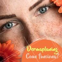 O  procedimento de dermaplaning remove as células mortas da epiderme, eliminando também os pelos da face. Esta técnica trata-se de um sutil polimento da pele, que não deixa cicatrizes e nem causa infecções. #dermaplaning #ahazou #esteticafacial