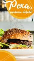 Impossível achar um defeito neste burguer! 🍔 #hamburguer #ahazoutaste #hamburgueria