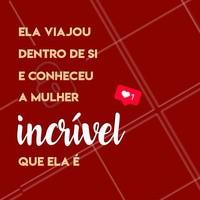 Conheça as maravilhas que existem dentro de vc ♥️ #motivacional #motivação #braziliangal #ahazou #incrivel #mulher #woman