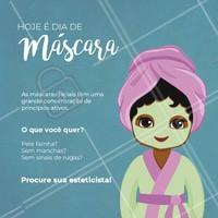 Agende já seu horário e experimente os resultados de nossas máscaras. #esteticafacial #mascarafacial #ahazouestetica #ahazou