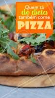 Não precisa se preocupar com a dieta! A gente tem uma pizza especial para você! 🍕 #pizza #ahazoutaste #pizzaria