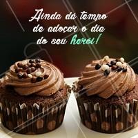 Presenteie o seu pai com doces especiais! Garanto que ele vai amar! 🤗 #doces #ahazoutaste #diadospais