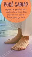 E para manter os pés sempre saudáveis e bem cuidados, é necessário visitar um podólogo regularmente! 👣 #podologia #ahazou #podologo #cuidadoscomospes