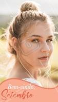 E para receber o novo mês, que tal renovar a sua pele? ✨ #setembro #ahazou #esteticafacial