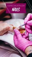 Eu acredito que suas unhas são especiais e por isso precisam de um atendimento especializado! 💅 Marque já seu horário e fique mais linda 📱 #manicure #ahazou #Unhas #Unha