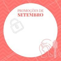 Vamos receber Setembro com promoções especiais? 🎉 #setembro #ahazou #cabelo #cabeleireiro