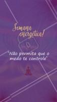 Não deixe que o medo te impeça de ser a sua melhor versão! ✨ #tercafeira #energias #ahazou #positvidade