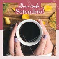 O mês mais colorido já chegou! Vamos colorir as unhas para comemorar? 💅 #setembro #unhas #ahazou #manicure
