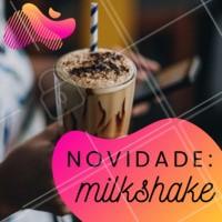 Venha experimentar essa delícia! #milkshake #ahazou #novidade