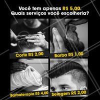 E aí, o que você escolheria? 🤩 Comenta aqui embaixo! 👇 #enquete #ahazou #barba #barbearia #barbeiro #barbaterapia