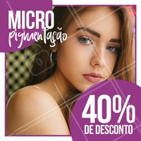 Aquele desconto que a gente tanto ama 😍 Agende já o seu horário e fique diva por um precinho especial 😘  #desconto #promoção #micropigmentação #ahazou