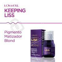 O O Pigmento Blond Keeping Liss, chega para assegurar o o processo de alisamento em cabelos loiros, protegendo os fios do desbotamento ao entrarem em contato com altas temperaturas. Realiza a matização dos cabelos por meio da deposição de pigmentos, proporcionando efeito platinado e retirando o aspecto de tom amarelado dos fios. Garanta um cabelo liso e com um loiro de arrasar com Keeping Liss Lowell! 👏❤ #KeepingLissLowell #NovaKeepingLiss #AhazouLowell #PigmentoBlondKeepingLiss #NovidadeLowell #Lowell #LowellCosméticos #LowellOficial